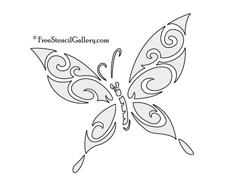 butterfly painting template butterfly stencils printable butterfly stencil 03