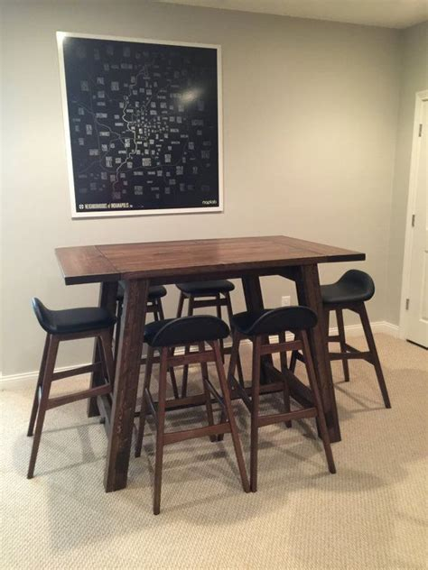 25 best ideas about counter height table on pinterest the most modern counter height bar table home decor pub