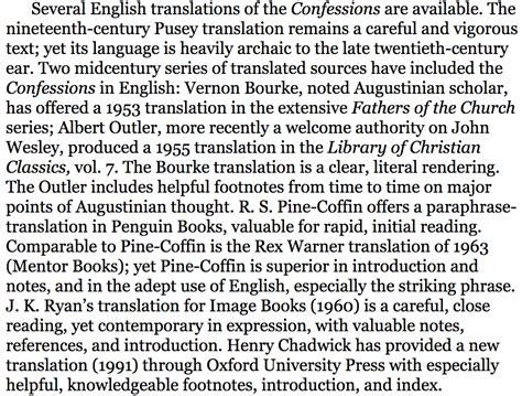 confessions a new translation books which translation of augustine s confessions is the