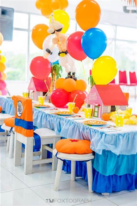 party themes a z kara s party ideas dragon ball themed birthday party