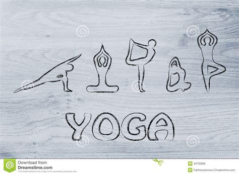 yoga mind and body 1405315334 yoga inspired illustration mind body and soul stock image image 49732895