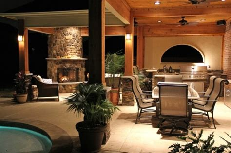 Furniture Fashion14 Inspiring Outdoor Kitchens With Outdoor Kitchen And Fireplace Designs