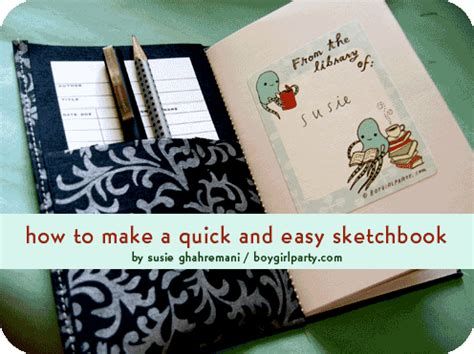 make your own sketchbook how to make your own easy sketchbook the top