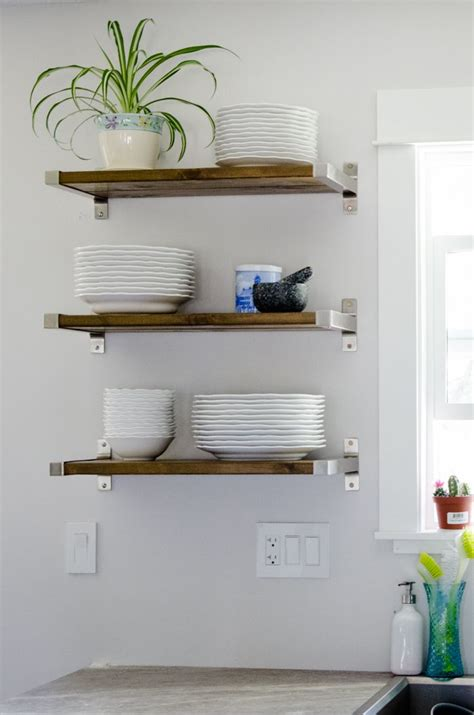 open shelving in kitchen top 10 favorite ikea kitchen hacks