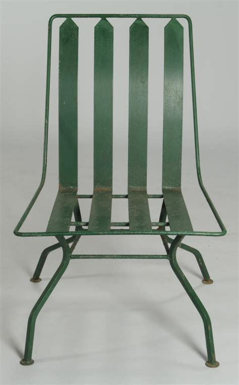 lot 589 deco patio furniture settee 3 chairs