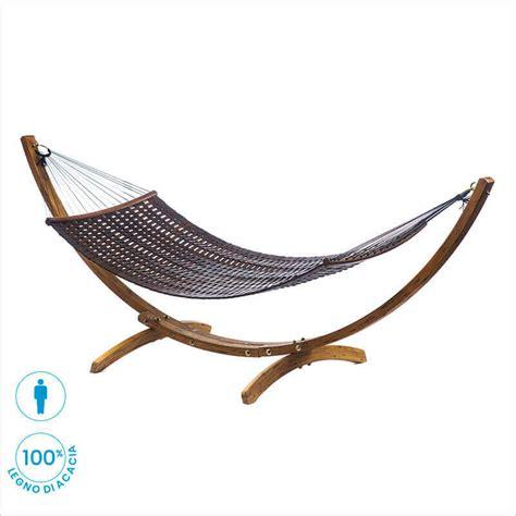 amaca in legno amaca in legno con supporto in legno per esterno felce