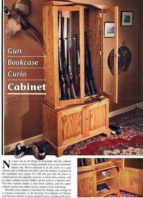 corner gun cabinet plans gun cabinet plans woodarchivist