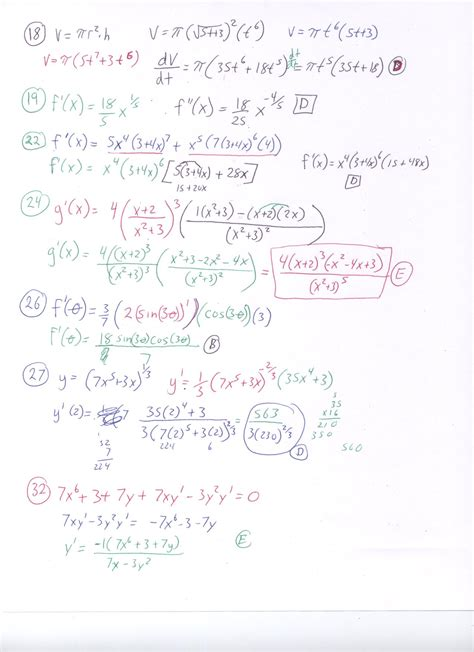 Ab Calculus Topic Outline by 76 Sle Questions For Calculus Ab Section 1 Calculus Ab Section 1 Part A Calculus Ab