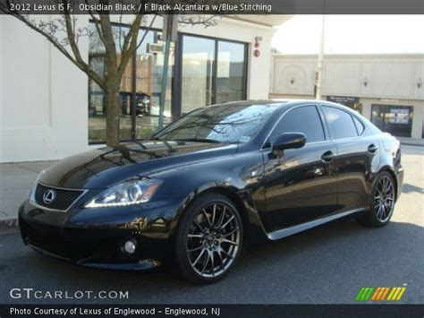 black lexus 2012 obsidian black 2012 lexus is f f black alcantara w