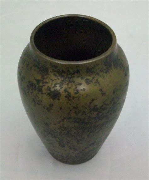 Metal Vases For Sale by Heintz Silver On Bronze Lizard Vase For Sale Antiques