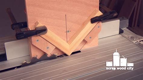 spline woodworking scrap wood city how to make a spline jig for the table saw