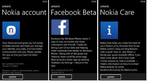 nokia account nokia account nokia care and facebook beta for lumia wp8