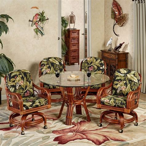 17 best ideas about tropical dining sets on