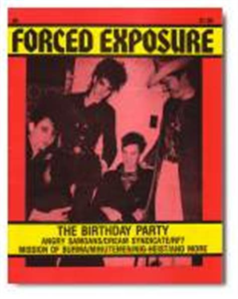forced exposure from the archives the birthday party bibliography i