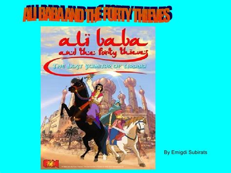 the spiritual meaning of ali baba and the 40 thieves and ali baba and the forty thieves 1