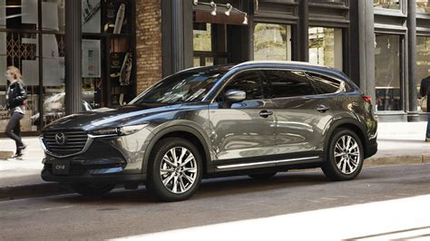 mazda car line mazda cx 8 to join australian line up in 2018