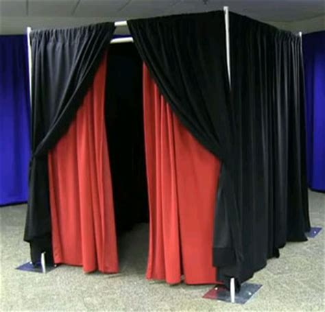 photo booth drapes 6 x 6 photo booth package unique expo pipe and drape