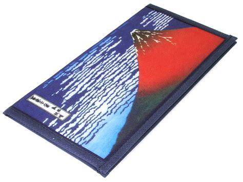 printable paper wallet hokusai red fuji woodblock print paper wallet