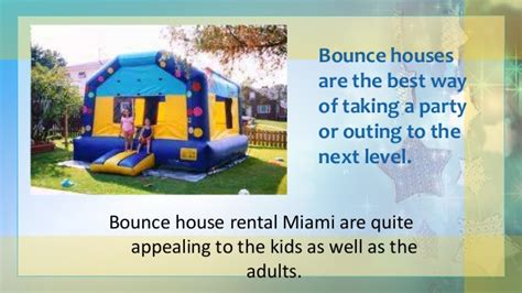 bounce house rental miami bounce house rental miami pptx