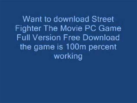 download film petualangan sherina full version street fighter the movie pc game full version free
