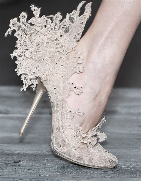 couture shoes valentino couture lace shoes