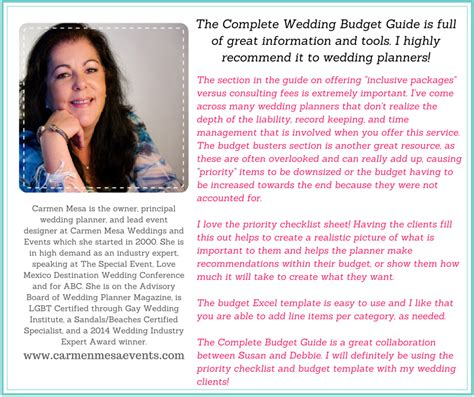 Wedding Budget Guide Pdf by Complete Wedding Budget Guide For Wedding Planners