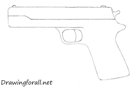 Pics For Gt Simple Rifle Drawing