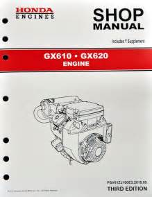honda gx610 gx620 k0 engine service repair shop manual ebay