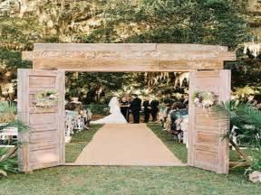 Diy Garden Wedding Ideas Rustic Outdoor Wedding Decoration Ideas