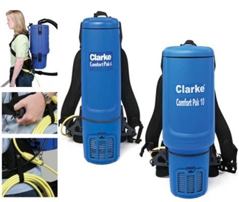 comfort pak backpack vacuums nilfisk advance clarke by mcs sanitation