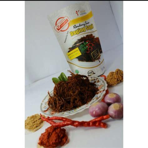 rendang suir sapi riry shopee indonesia