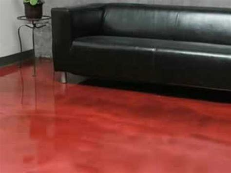 red concrete floor coating youtube when should you use an epoxy floor coating youtube