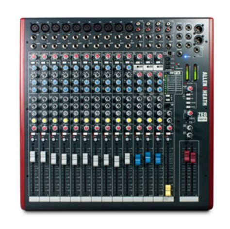 Mixer Allen Heath 8 Chanel allen heath 16 chanel mixer the design oasis