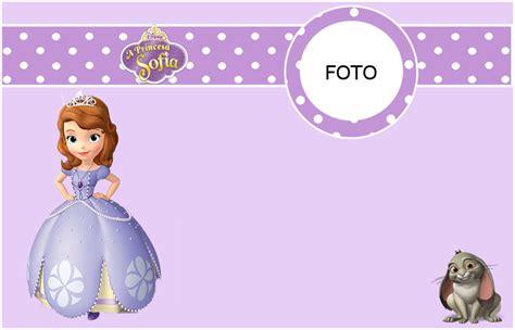 Lindas Invitaciones De Princesa Sofia Para Imprimir Gratis