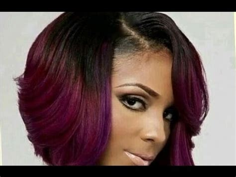 bob haircut hairstyle for black women hairstyle for women cute short bob haircuts for black women youtube