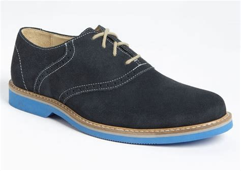 oxford shoes colored soles 1901 saddle up oxford shoes mensfash