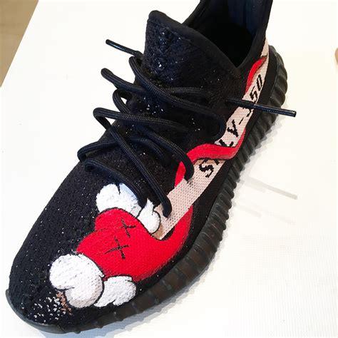 custom sneaker custom yeezy by quot the sneakers quot yeezy adidas thesneakers