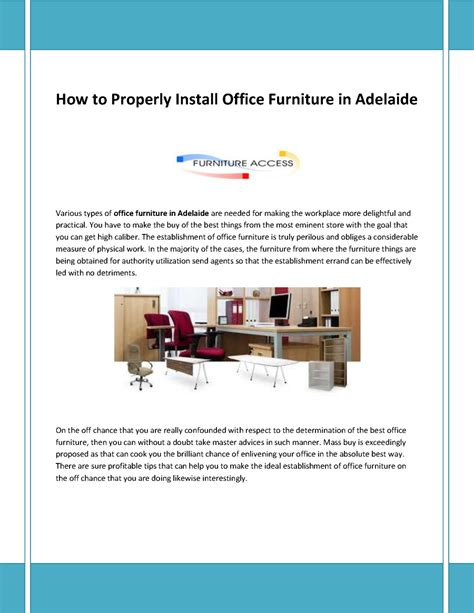office furniture adelaide office furniture in adelaide authorstream