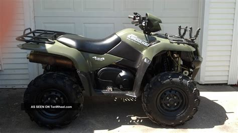 Suzuki 700 King For Sale 2007 Suzuki Kingquad 700 4x4 Lta700xk7