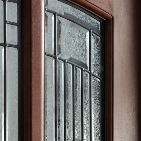 Leaded Glass Exterior Doors Front Doors Stock And Custom Modern And Traditional By Glenview Doors Chicago Illinois