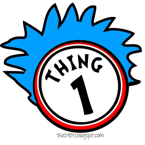 thing 1 and thing 2 printable template free coloring pages of thing one and thing 2