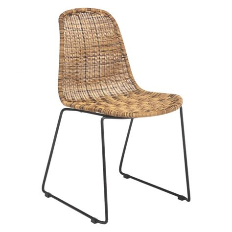 black rattan dining chairs mickey synthetic rattan dining chair buy now at habitat uk