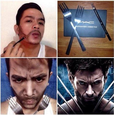 Jam Tangan Keren Wolverine transformasi make up paling lucu dan gokil dalam sejarah