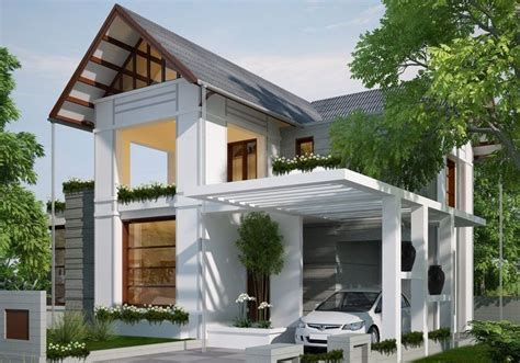 modern white carport design ideas  minimalist modern house design deck  carport