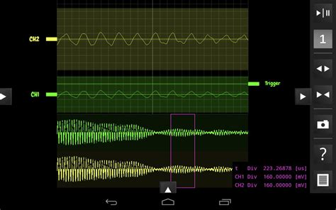 android oscilloscope osciprime oscilloscope android apps on play
