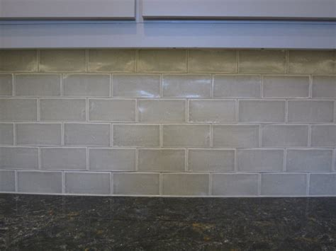 crackle subway tile transitional kitchen chicago
