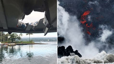 lava boat tour accident hawaii lava explosion boat tours to continue after 23 injured