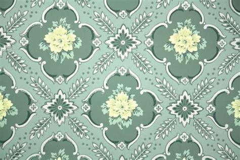 floral vintage wallpaper hannahs treasures