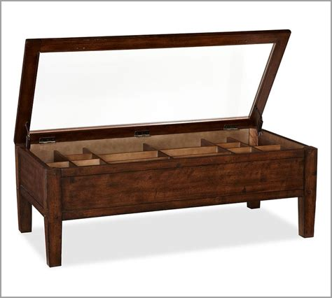 Pottery Barn Coffee Table With Drawers Pottery Barn Townsend Shadow Box Coffee Table 499 Seashells The O Jays