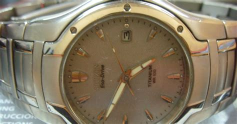 Set Titanium Dewasa fashion care 2u citizen titanium ecodrive 100m wr